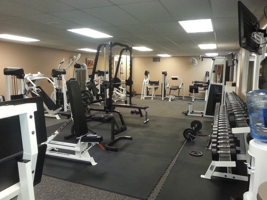 Bolger Center: One of the workout rooms