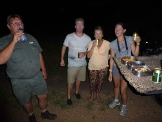 Tangala Safari Camp: night drive stop