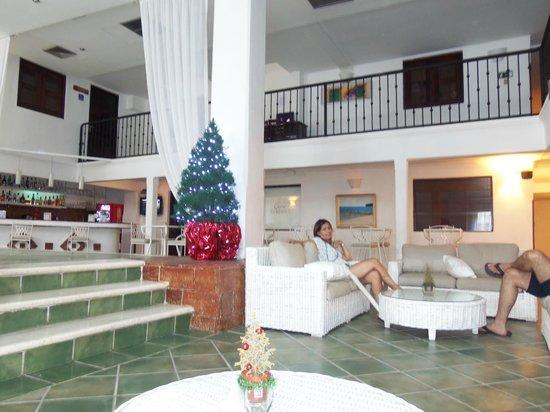 Antiguo Hotel Europa: Sala da recepção