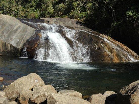 Pousada do Rio: cachoeira do escorrega