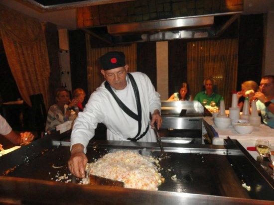 Melia Las Americas: restaurante temático
