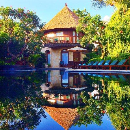 Dewani Villa: The pool and villa view