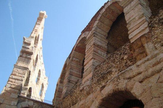 Arena di Verona: La arena de Verona desde un ángulo diferente