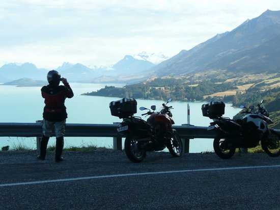 South Pacific Motorcycle Tours - Day Tours: Road to Paradise(Glenorchy)