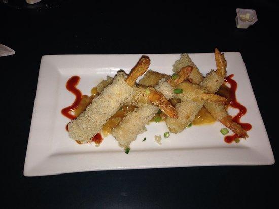 Black Pelican Oceanfront Restaurant: Bangkok shrimp!