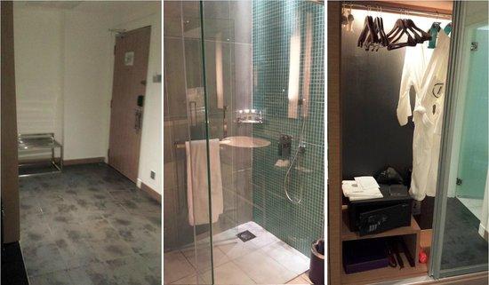 Pullman Kuala Lumpur Bangsar : Entrance, Wardrobe & Shower Area
