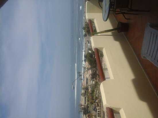 Mirador el Buey Surf Hostel : view from 2nd floor