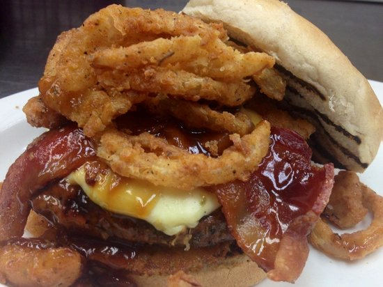 """Sunset Coastal Grill: The """"Ugly Burger"""""""