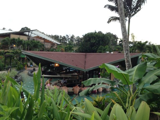 Arenal Springs Resort and Spa: view from thermal pools