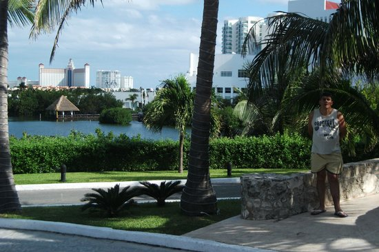 Grand Park Royal Cancun Caribe: Vista perfeita