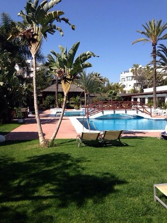 Melia Marbella Banus: View from our room