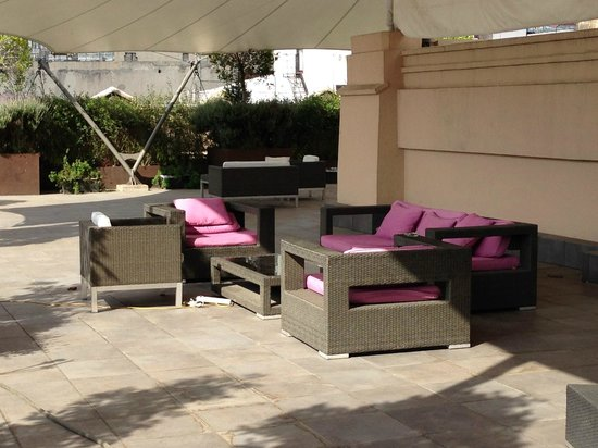 Hampton Inn & Suites Mexico City - Centro Historico: The Rooftop patio