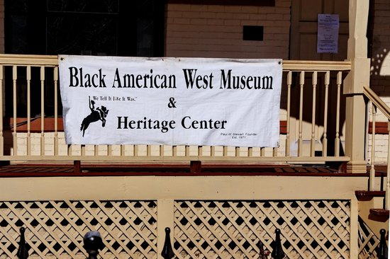 Black American West Museum : Museum in Dr. Ford's home