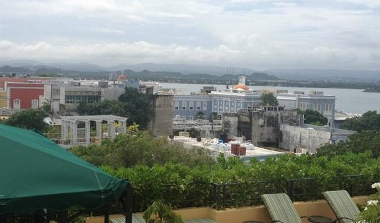 Hotel El Convento: View from our room