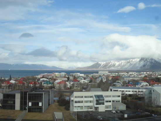 Hilton Reykjavik Nordica: View from our room (Room 716)
