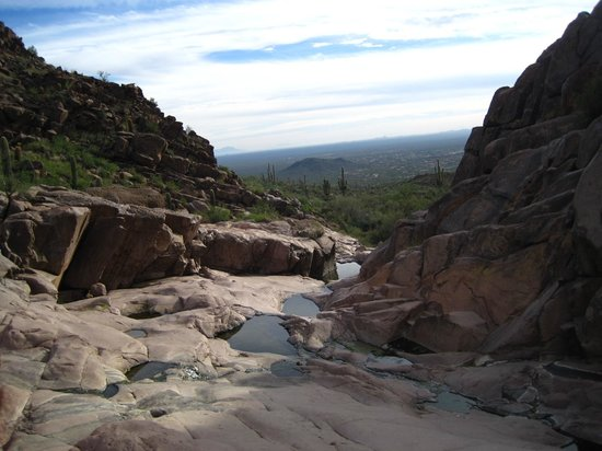 Hieroglyphic Canyon Trail: Main area