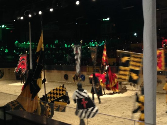 Medieval Times: Entrance of Knights