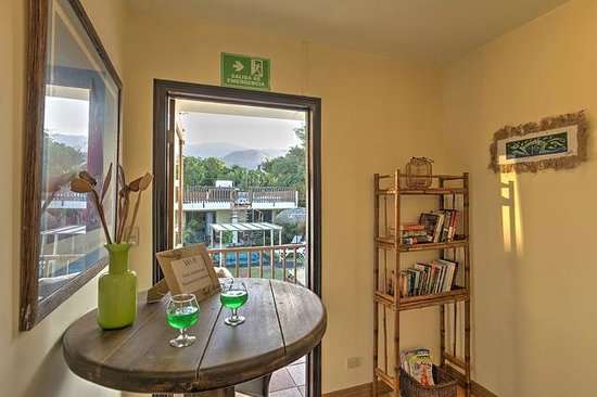 Hotel Casa Alegre / Posada Nena: ein kleiner Balkon