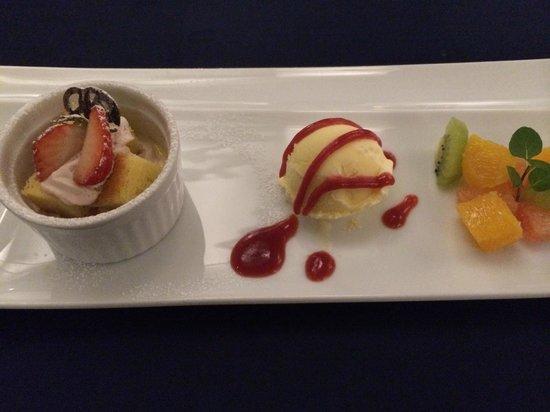 Hotel Seashore Mitsumisaki: 夕食デザート