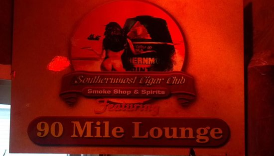 The Southernmost Cigar Club and Smoke Shop: Southern Most Cigar