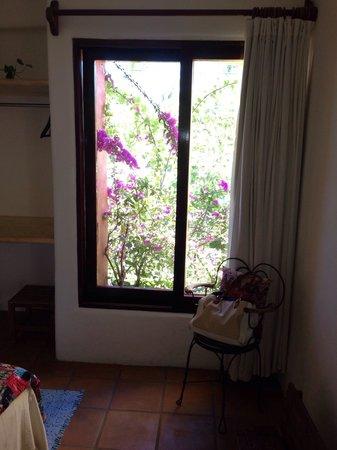 Hotel Cielo Rojo: La ventana de mi cuarto