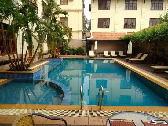 Steung Siemreap Hotel: nice pool