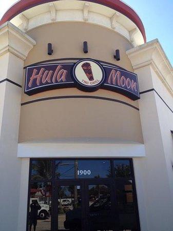 Hula Moon : front view