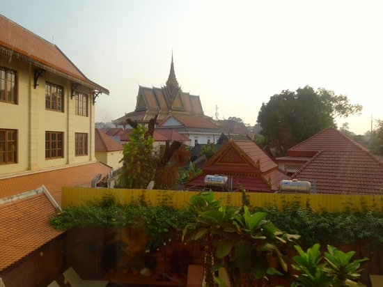 Steung Siemreap Thmey Hotel : view from the 2nd floor room