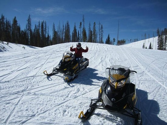 On The Trail Rentals: Awesome snowmobiles and trails!