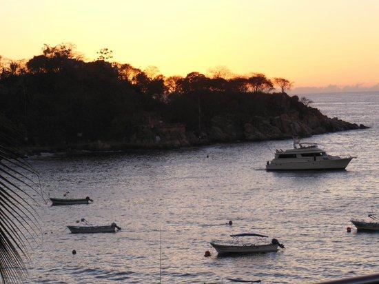 Barcelo Puerto Vallarta: Sunset on the Ocean.