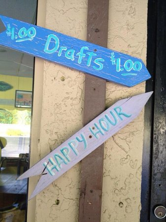 Cathy's Beach Connection: $$1.00 drafts all day ...