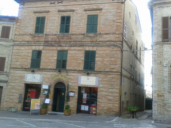 Bed and Breakfast Montelupone: Palazzo Magner (sec.XVIII) ubicazione del B&B.