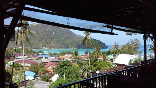 view from phi phi Arboreal Resort
