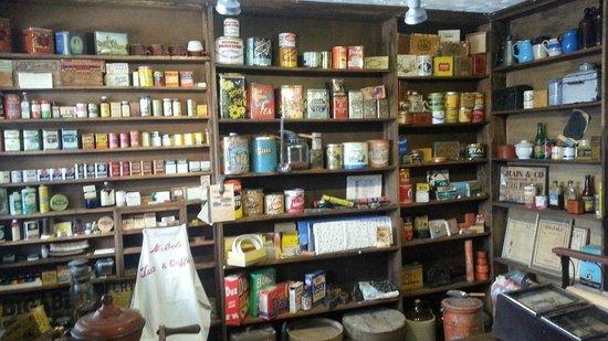 Creston Museum: Old-style market replica