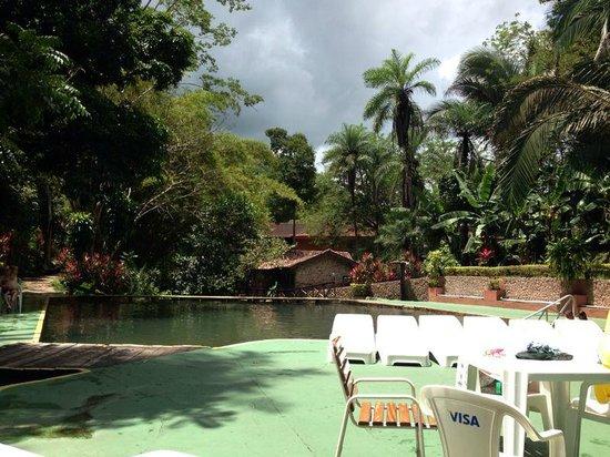 Hotel Mato Grosso Aguas Quentes : muito verde