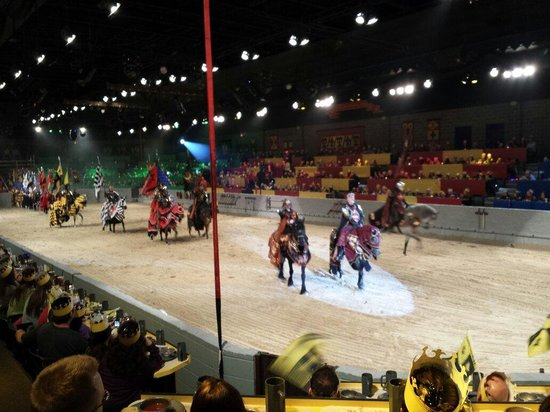 Medieval Times Dinner & Tournament: The king and knights assemble!