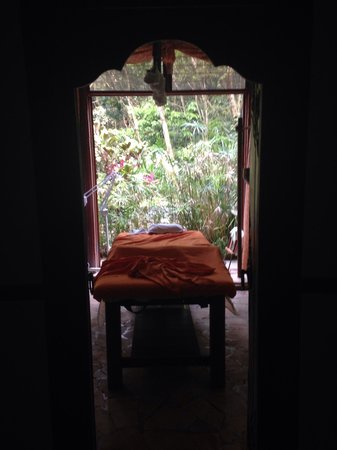 Raindrop Spa: A view from the hallway