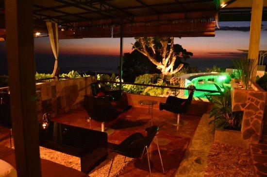 Rancho Pacifico : Looking from the lounge having a coconut martini..aaaaaaaahhhh