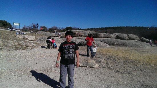 Big Rocks Park: Rock enthusiast