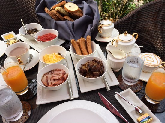 Sireeampan Boutique Resort & Spa: Our breakfast