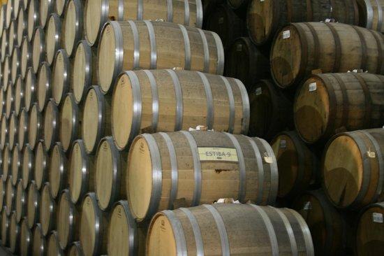La Rojena : Barrels in La Rojeña