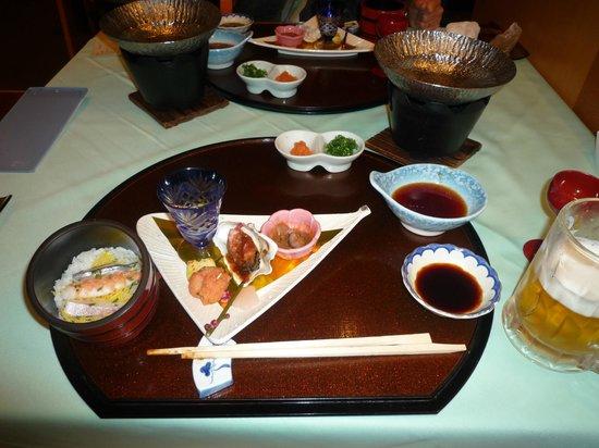 Kirishima Hotel: 夕食は食事処で