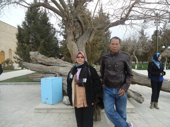 Bakhautdin Naqsband Mausoleum: the 'walking stick'