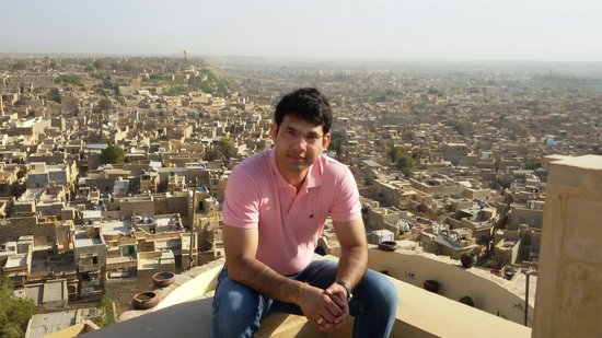 Hotel Rajmandir : Great view of Jaisalmer killa