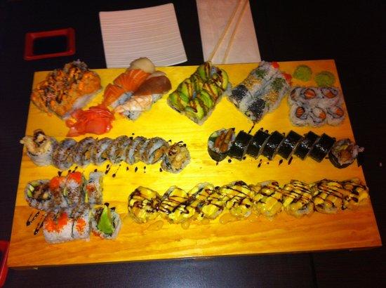 Ta-Ke Sushi: Delicious :)
