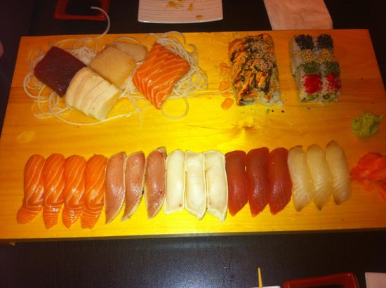 Ta-Ke Sushi: Never fails to impress with generous amounts of fresh fish!