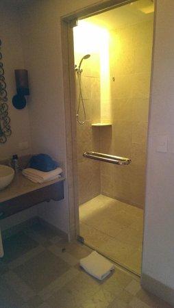 Secrets Puerto Los Cabos Golf & Spa Resort: Great Shower