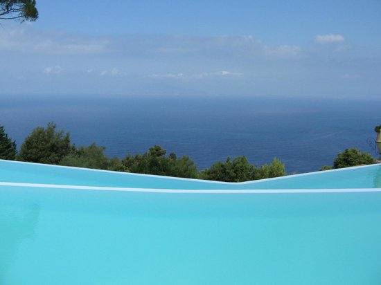 Caesar Augustus Hotel : Pool view totally stunning
