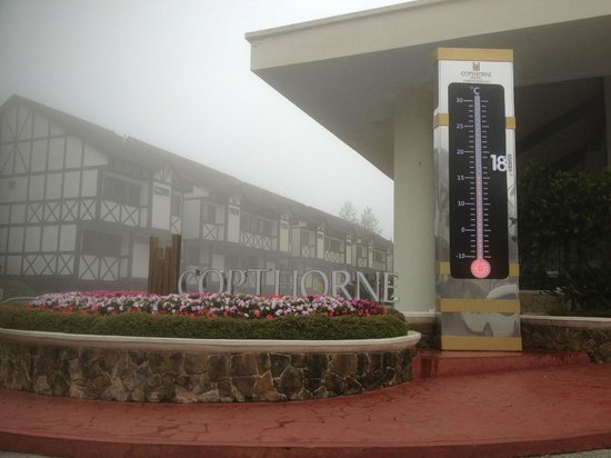 Copthorne Hotel Cameron Highlands: Full of fog and really cold