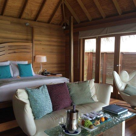 Conrad Maldives Rangali Island : Luxury water house
